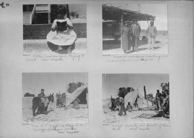 Mission Photograph Album - Indians #2 page_0092