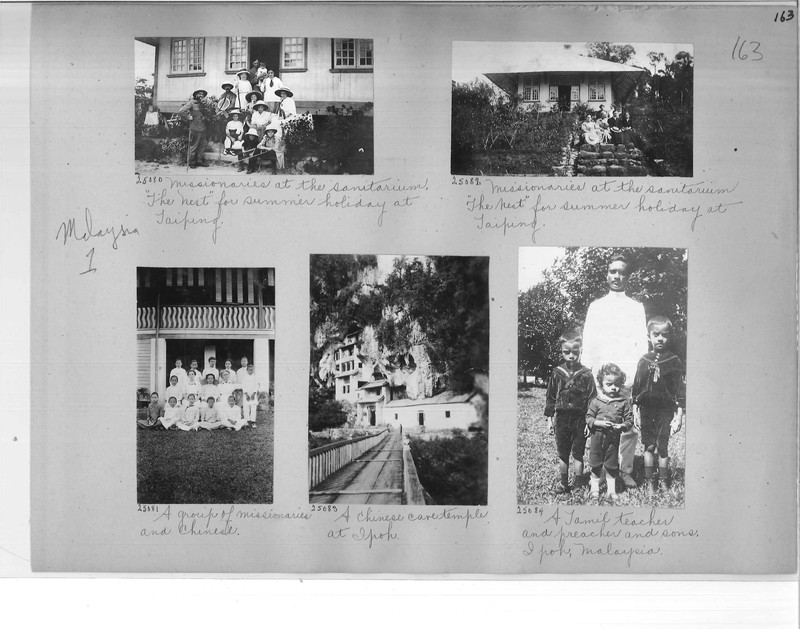Mission Photograph Album - Malaysia #1 page 0163