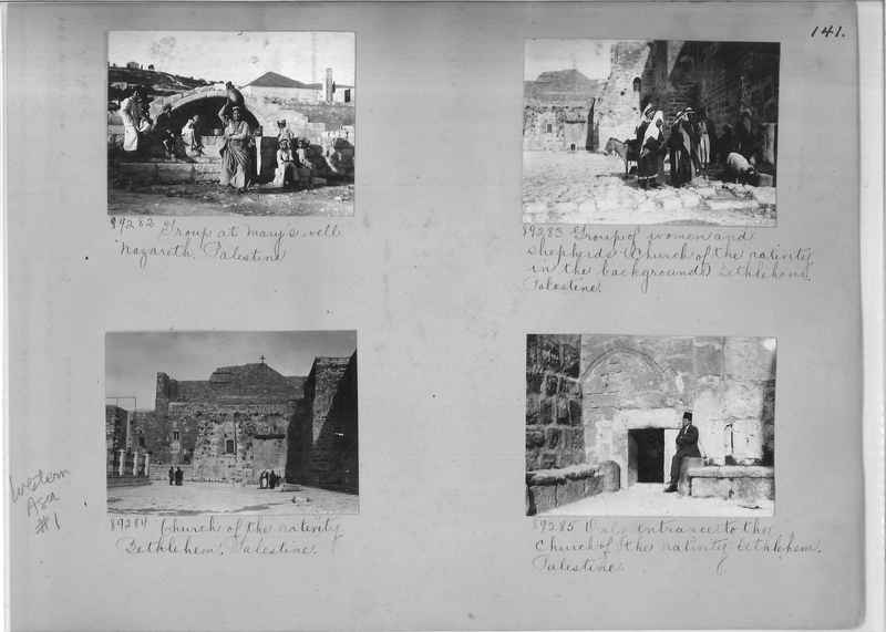 Mission Photograph Album - Western Asia - #01 page_0141