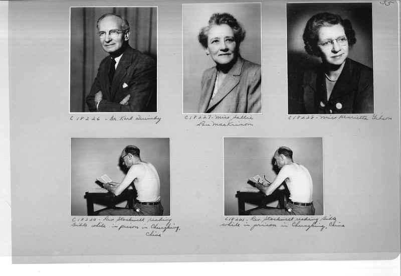 Mission Photograph Album - Portraits #08 Page 0035