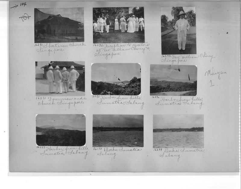 Mission Photograph Album - Malaysia #1 page 0104