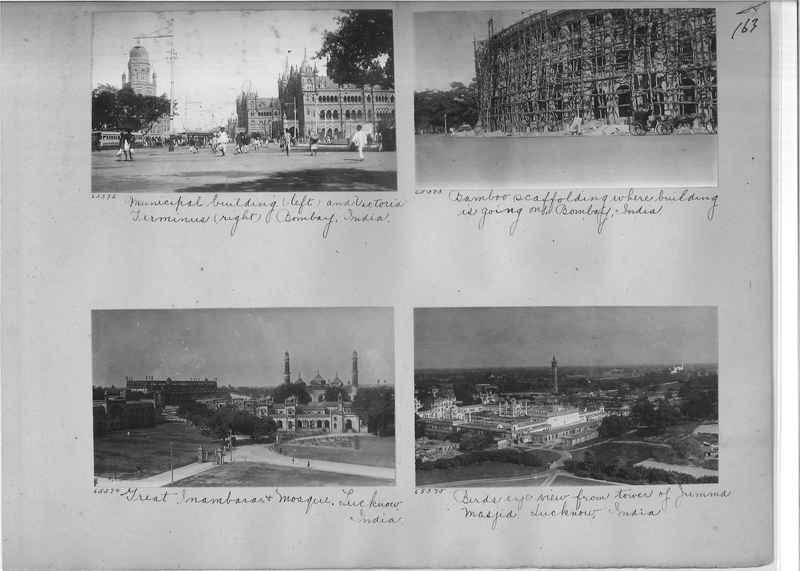 Mission Photograph Album - India #08 Page 0163