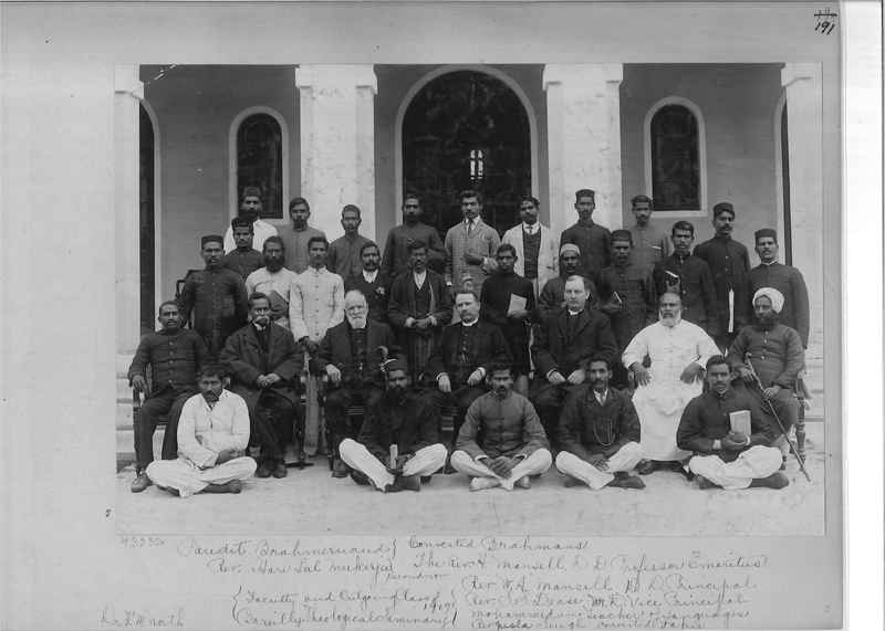Mission Photograph Album - India - O.P. #01 Page 0191