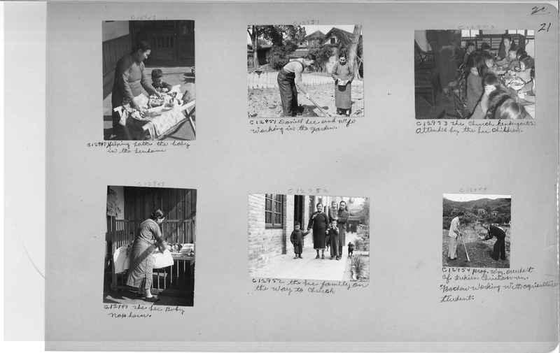 Mission Photograph Album - China #20 page 0021
