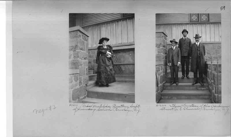 Mission Photograph Album - Negro #2 page 0059