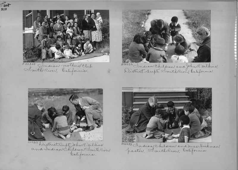 Mission Photograph Album - Indians #2 page_0210