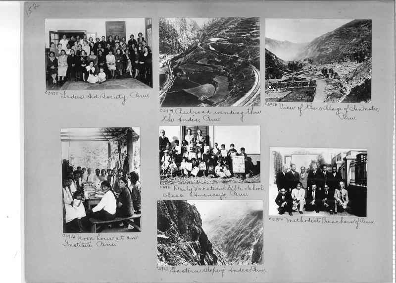 Misson Photograph Album - South America #8 page 0152