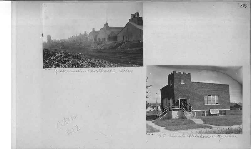 Mission Photograph Album - Cities #12 page 0185