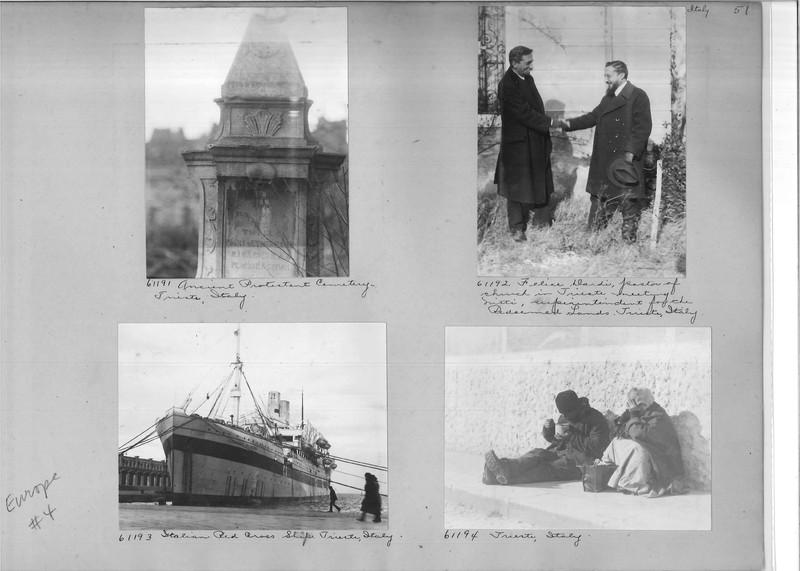 Mission Photograph Album - Europe #04 Page 0051
