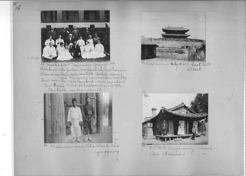 Mission Photograph Album - Korea #1 page 0016