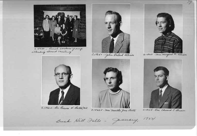 Mission Photograph Album - Portraits #08 Page 0077