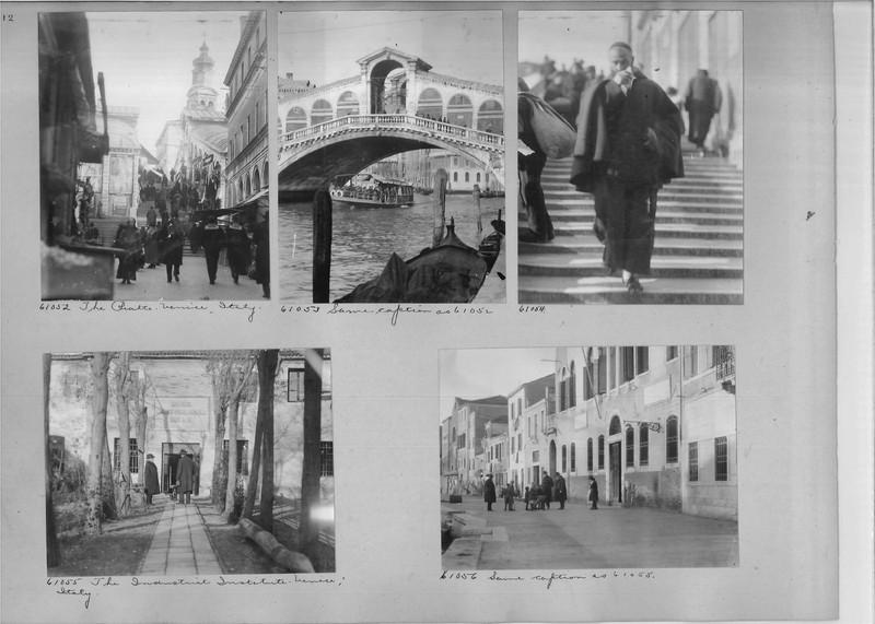 Mission Photograph Album - Europe #04 Page 0012