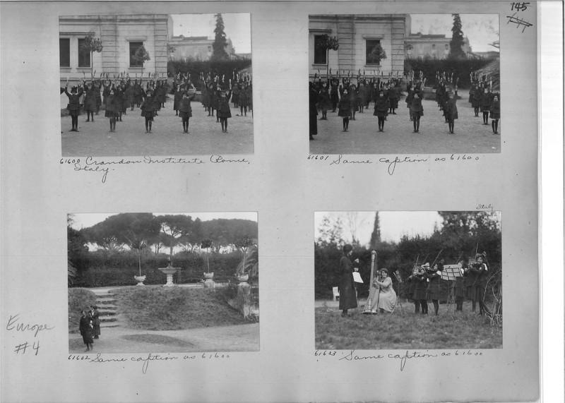 Mission Photograph Album - Europe #04 Page 0145