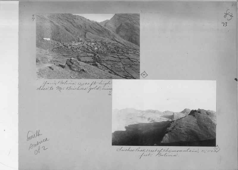 Mission Photograph Album - South America O.P. #2 page 0073