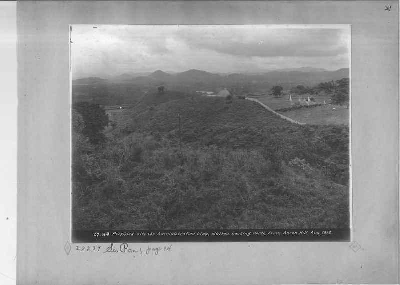 Mission Photograph Album - Panama OP #01 0021
