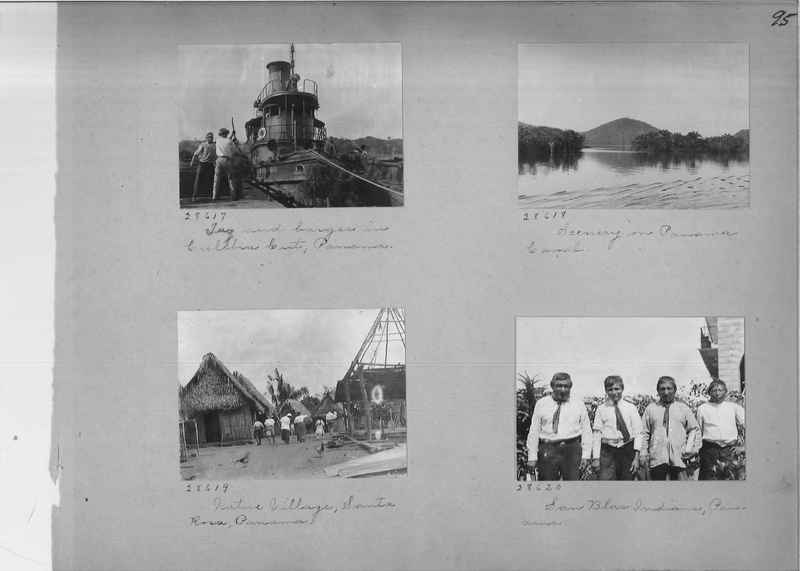 Mission Photograph Album - Panama #02 page 0095