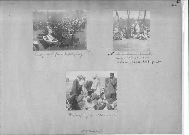 Mission Photograph Album - India - O.P. #01 Page 0083