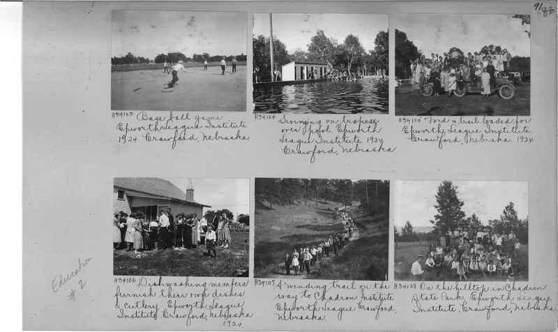 Mission Photograph Album - Education #2 page 0091