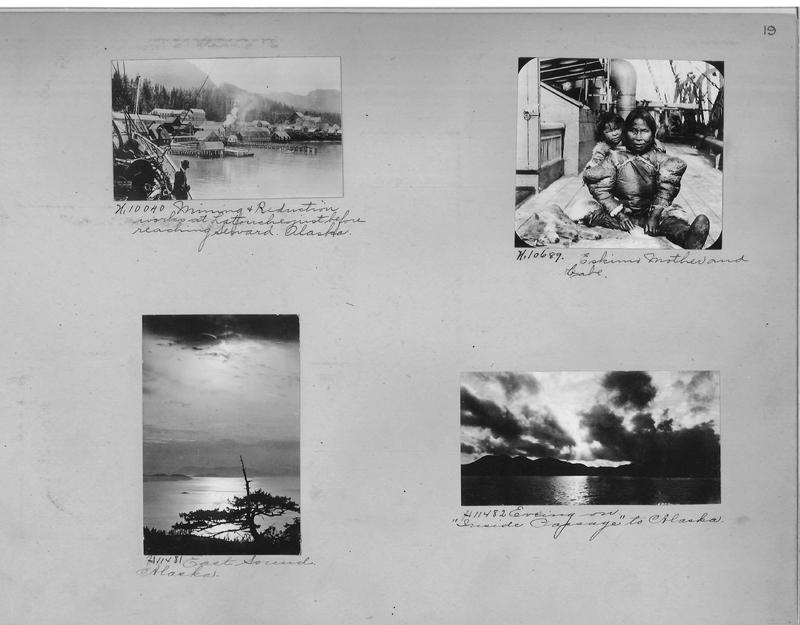 Mission Photograph Album - Alaska #1 page 0019