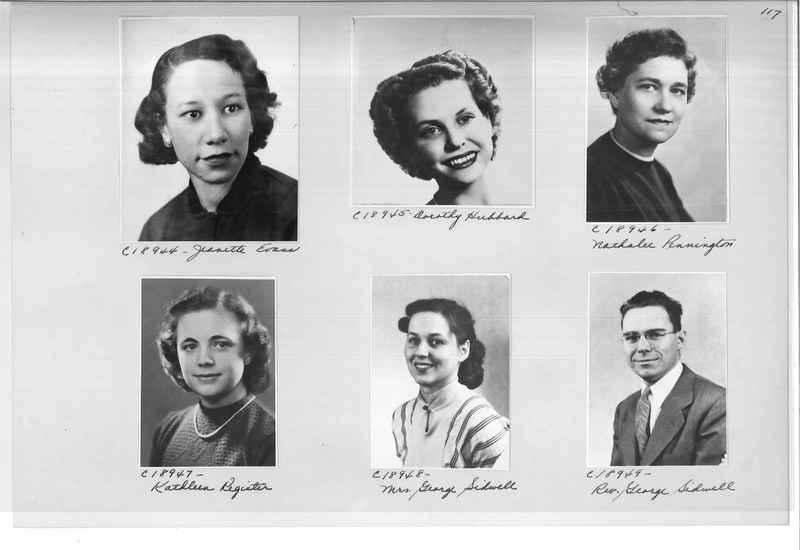 Mission Photograph Album - Portraits #08 Page 0117