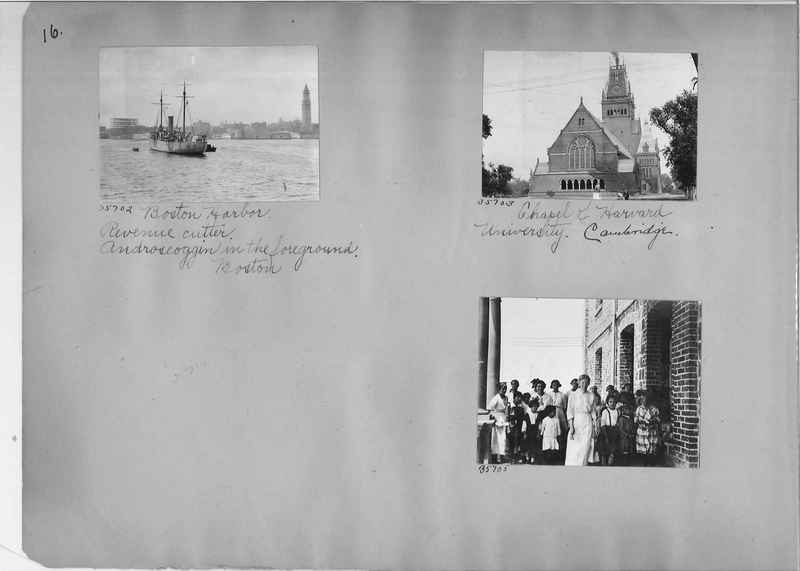 Mission Photograph Album - America #3 page 0016