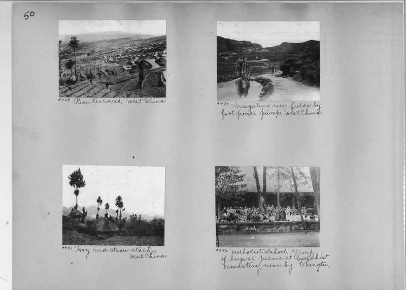 Mission Photograph Album - China #2 page  0050