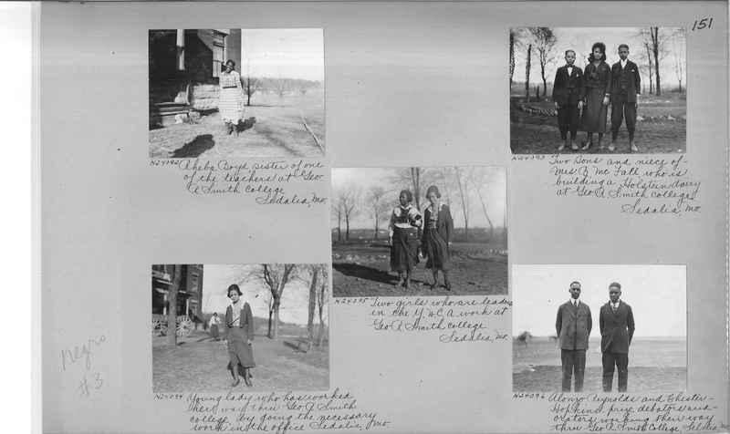 Mission Photograph Album - Negro #3 page 0151
