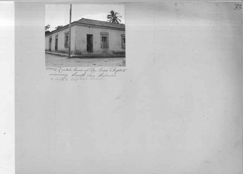 Mission Photograph Album - Panama #03 page 0033