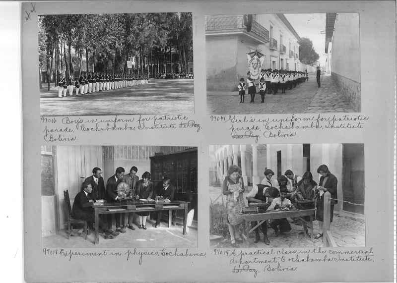 Misson Photograph Album - South America #8 page 0044