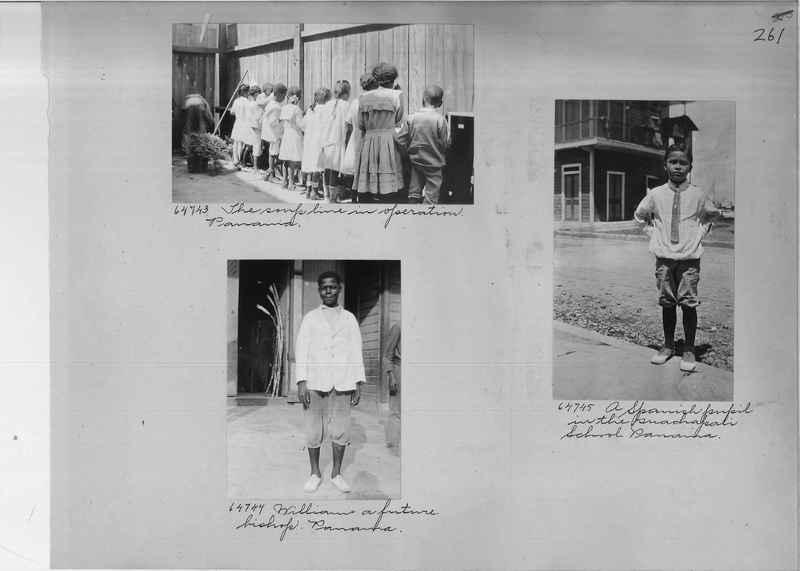 Mission Photograph Album - Panama #02 page 0261