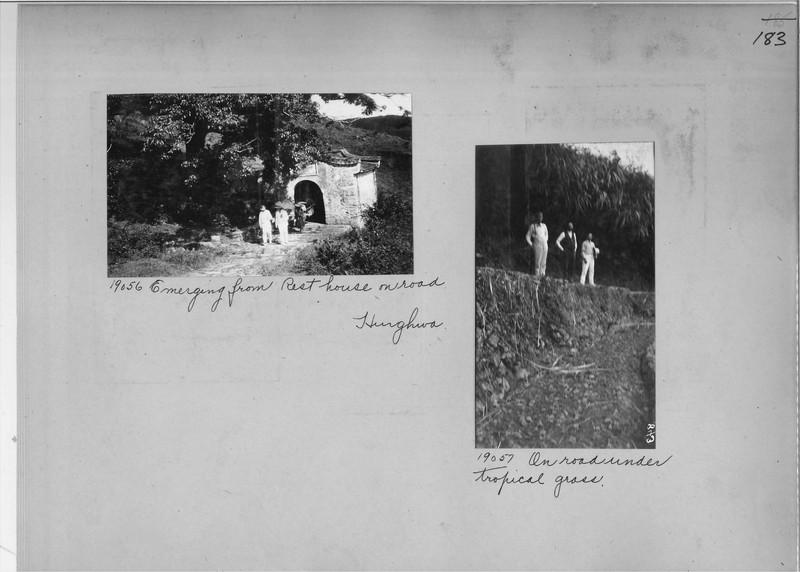 Mission Photograph Album - China #5 page 0183