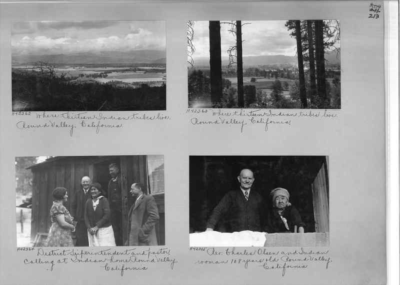 Mission Photograph Album - Indians #2 page_0213