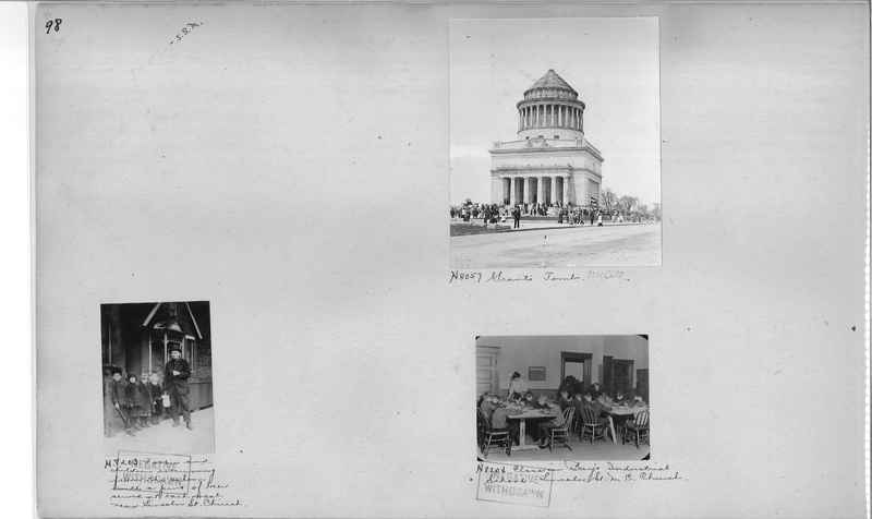 Mission Photograph Album - Cities #4 page 0098
