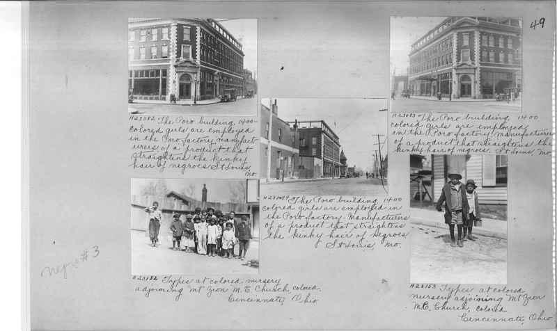 Mission Photograph Album - Negro #3 page 0049