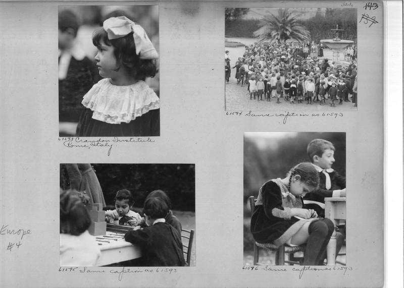 Mission Photograph Album - Europe #04 Page 0143