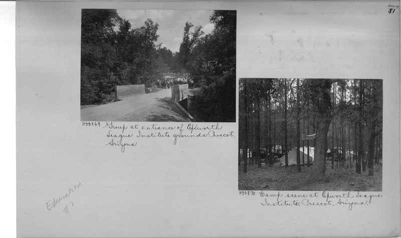 Mission Photograph Album - Education #2 page 0081