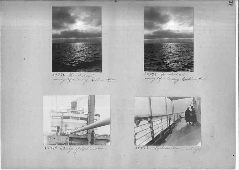 Mission Photograph Album - Miscellaneous #02 Page 0021