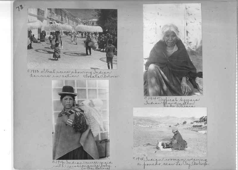 Misson Photograph Album - South America #8 page 0078