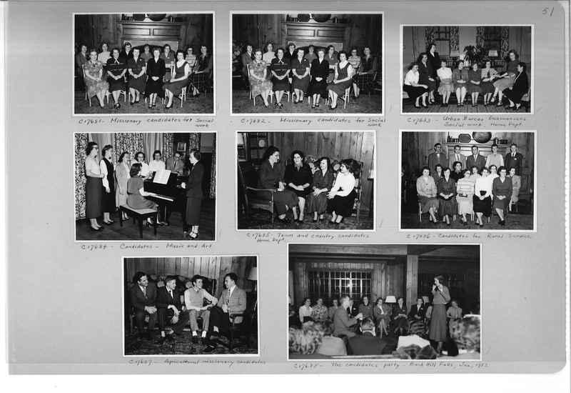 Mission Photograph Album - Portraits #13 Page 0051