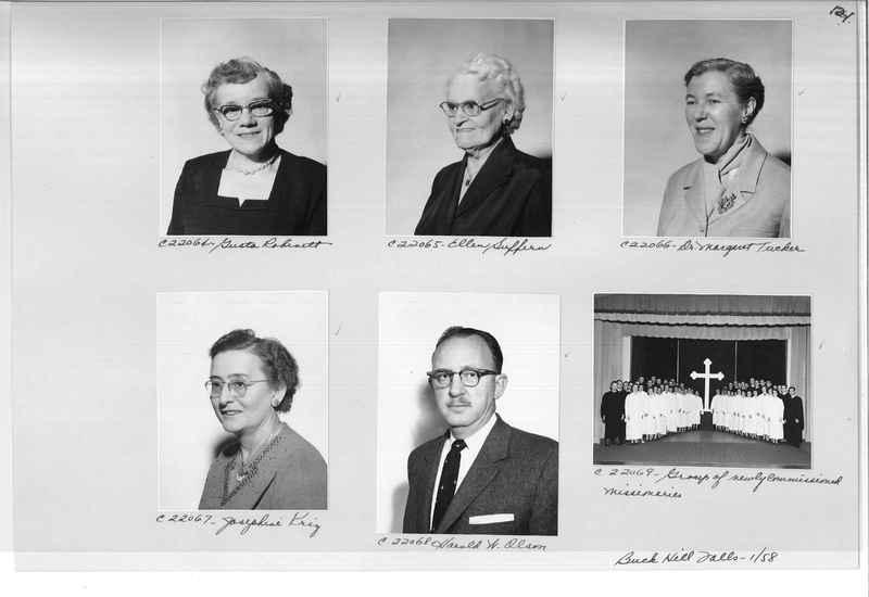 Mission Photograph Album - Portraits #10 Page 0121