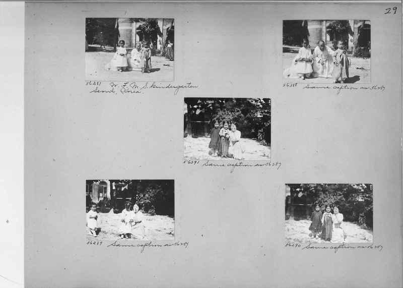 Mission Photograph Album - Korea #5 page 0029