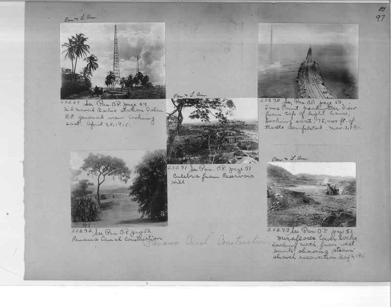 Mission Photograph Album - Panama #1 page  0097