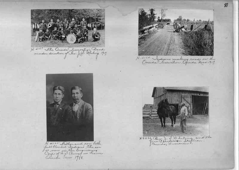 Mission Photograph Albums - Indians #1 page 0087
