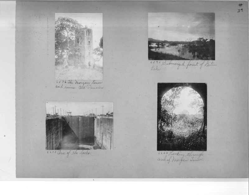 Mission Photograph Album - Panama #1 page  0039