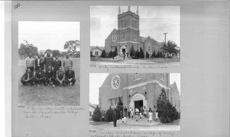 Mission Photograph Album - Negro #6 page 0100
