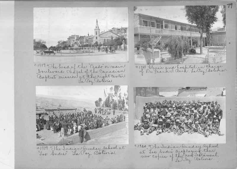 Misson Photograph Album - South America #8 page 0079