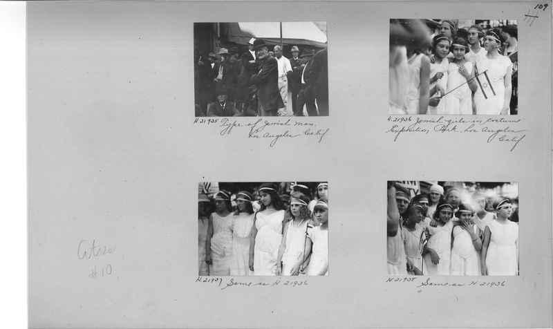 Mission Photograph Album - Cities #10 page 0109