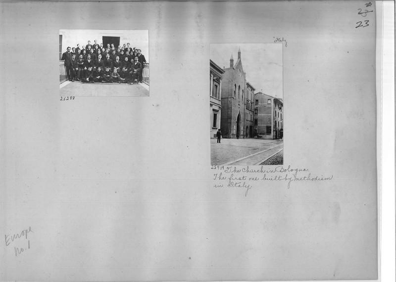 Mission Photograph Album - Europe #01 Page 0023