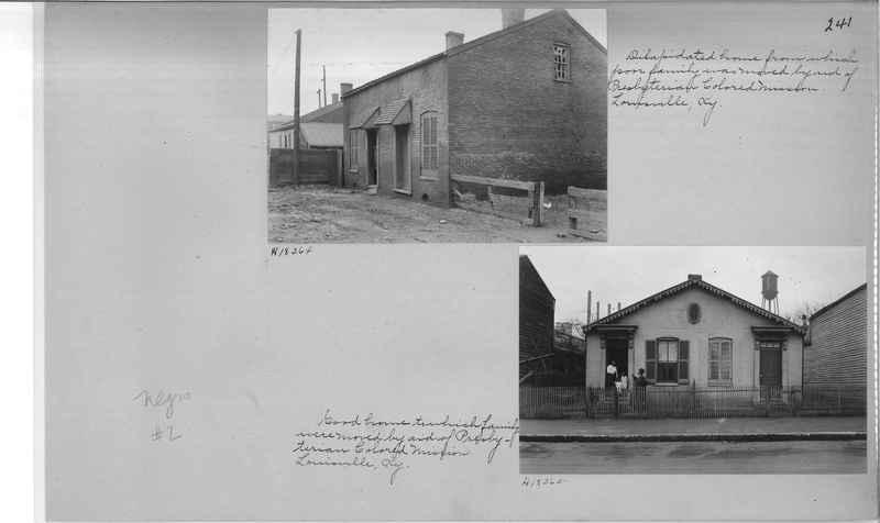 Mission Photograph Album - Negro #2 page 0241