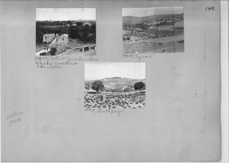 Mission Photograph Album - Western Asia - #01 page_0149